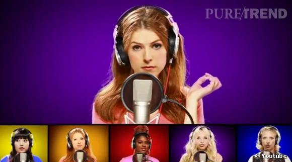"""Le casting de """"Pitch Perfect"""" fait encore parler de lui avec une reprise de """"Starships"""" de Nicki Minaj, avec Mike Tompkins et des utilisateurs de Youtube !"""