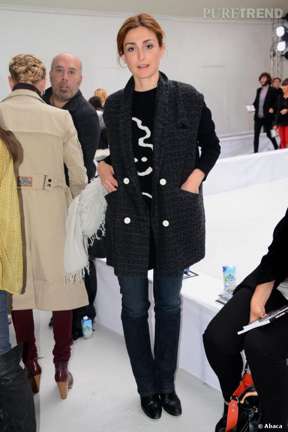 Julie Gayer au défilé Printemps/Été 2013 Devastee.