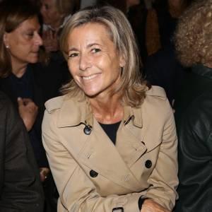 Claire Chazal au défilé Printemps/Été 2013 Carven.