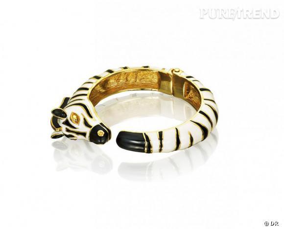 Must have : AdR, la collection d'Anna dello Russo pour H&M      Bracelet zèbre 29,95 €