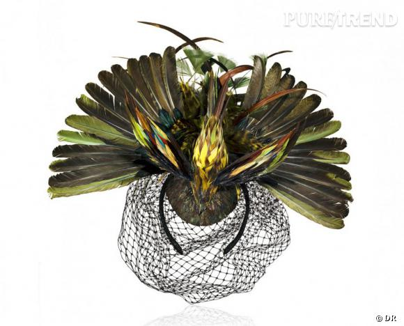 Must have : AdR, la collection d'Anna dello Russo pour H&M      Bibi à plumes 179 €
