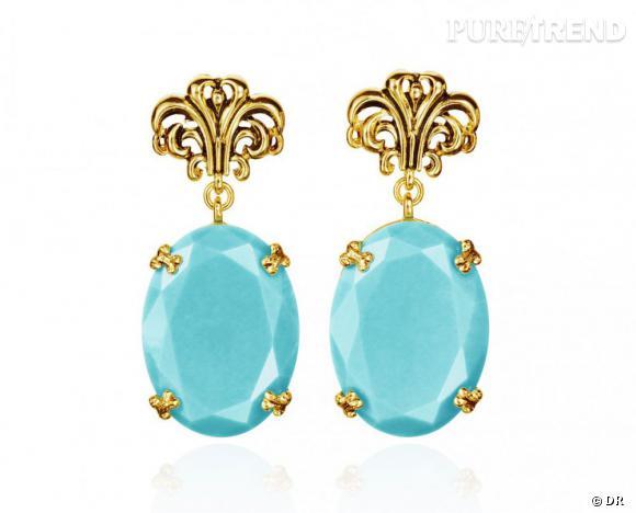 Must have : AdR, la collection d'Anna dello Russo pour H&M      Boucles d'oreilles 29,95 €