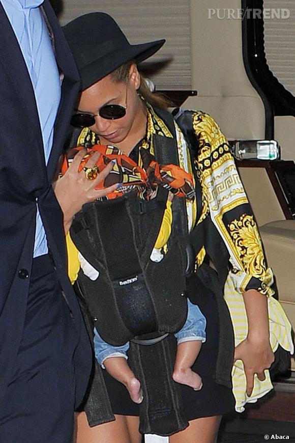 Ivy Blue, le bébé mode de Beyonce et Jay Z.