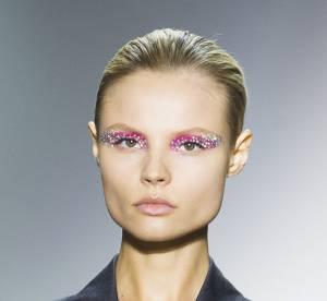 Défilé Christian Dior : Quand la paupière se fait bijou