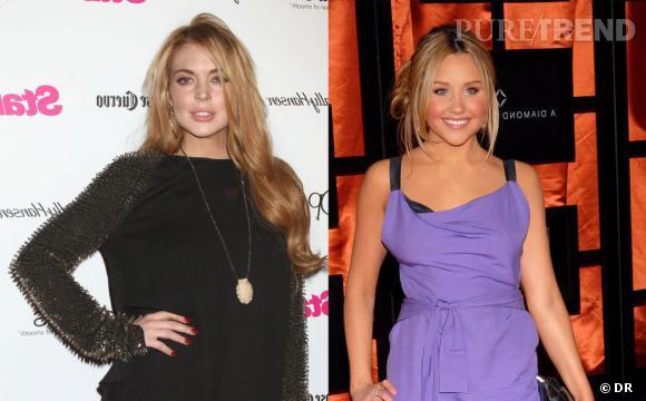 Entre Lindsay Lohan et Amanda Bynes, rien ne va plus !