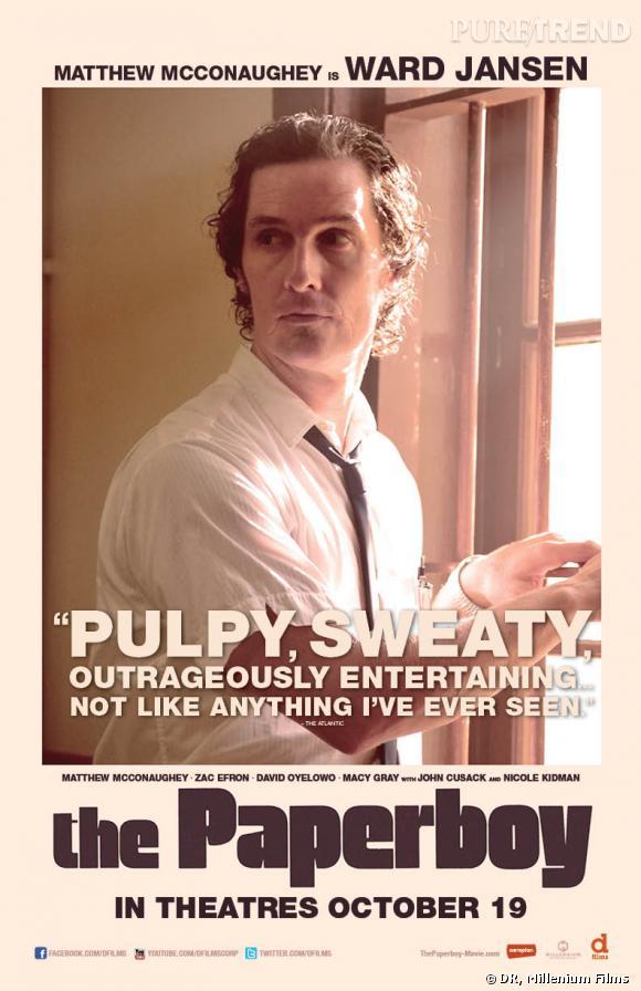 "Matthew McConaughey dans ""Paperboy""."