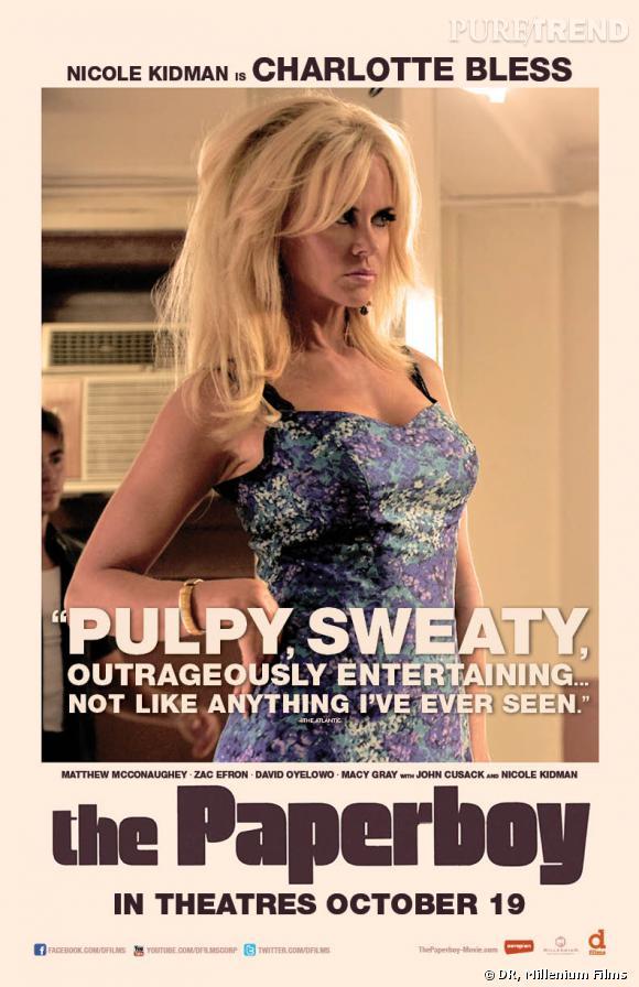 """Nicole Kidman dans """"Paperboy"""" à l'affiche le 17 octobre prochain."""