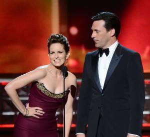 On sait Tina Fey capable de présenter une cérémonie. Sur scène pendant les Emmys, elle avait assuré !