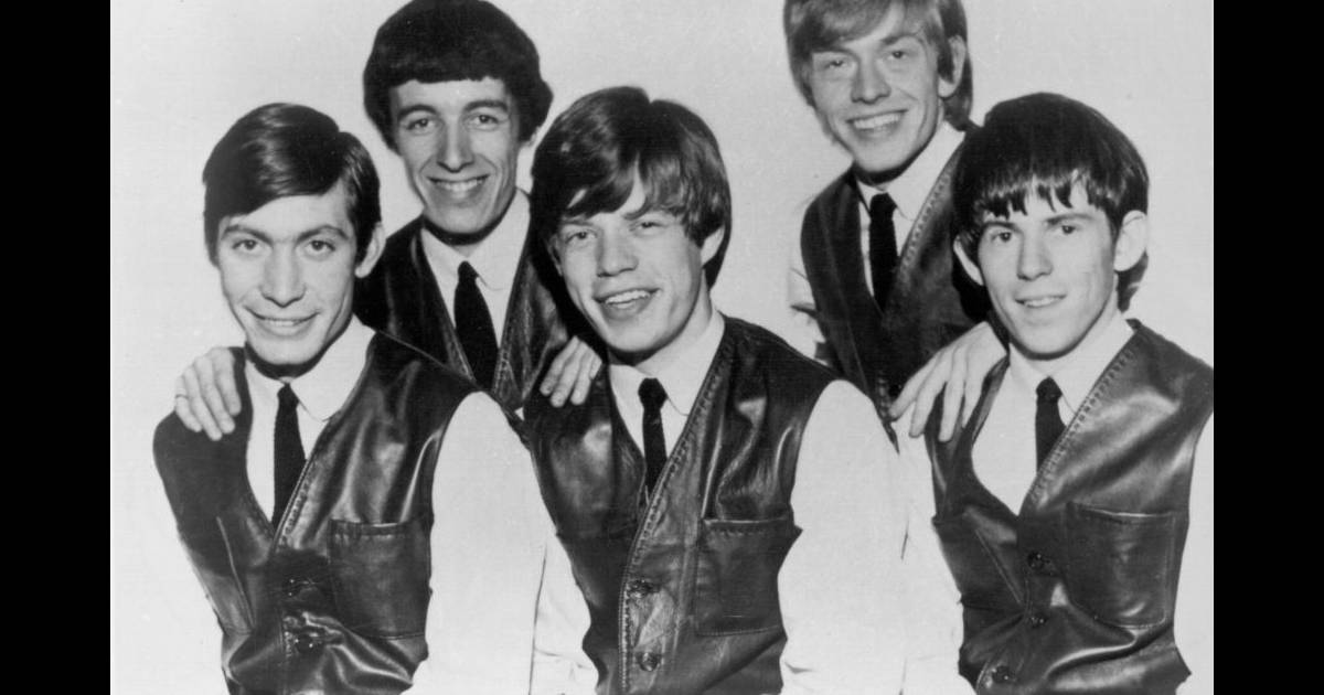c 39 est en 1962 que la l gende rolling stones commence a l 39 poque le groupe est compos de. Black Bedroom Furniture Sets. Home Design Ideas