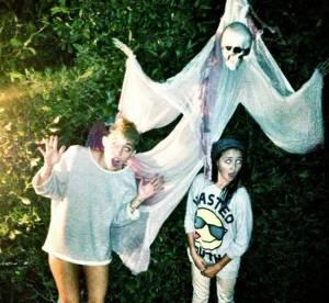 Miley Cyrus en photo les fesses à l'air pour Halloween