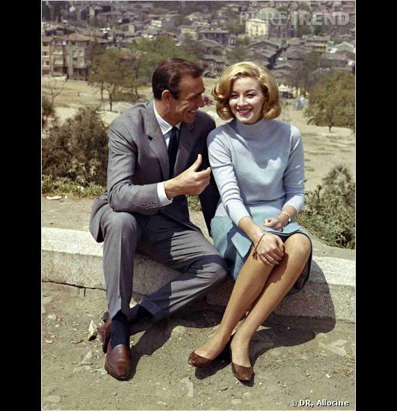Film : Bons Baisers de Russie   Qui ? Sean Connery et Daniela Bianchi.   Année : 1963.
