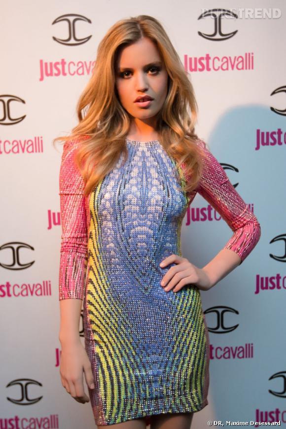 Georgia May Jagger, sublime dans sa robe signée Just Cavalli.