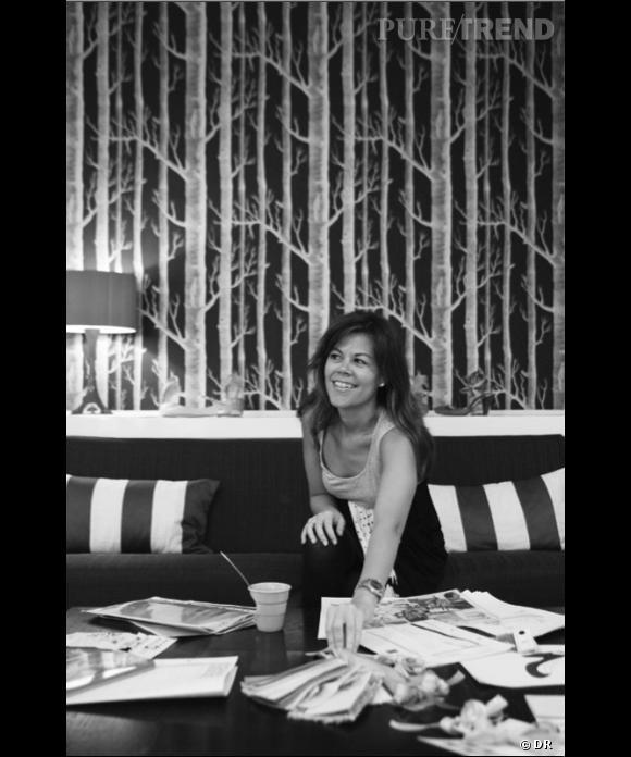 Maloles Antignac, fondatrice et directrice artistique de la maison.