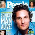 Les heures de sport sur la plage de Malibu sont payante pour Matthew McGonaughey, homme le plus sexy de l'année 2005.