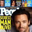 """En décrochant le rôle de Wolverine dans la franchise """"X-Men"""", Hugh Jackman dévoile tout son potentiel sexy et remporte la distinction en 2008."""