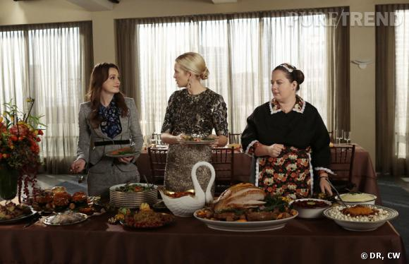"""Thanksgiving, une tradition avec laquelle on ne plaisante pas dans """"Gossip Girl"""" !"""