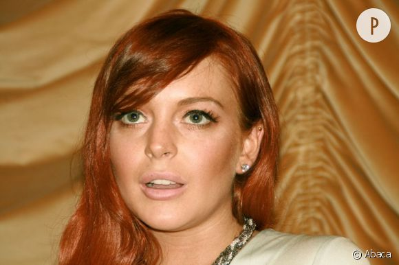 """Lindsay Lohan a vite déchanté en voyant les mauvaises critiques de son film """"Liz & Dick""""."""