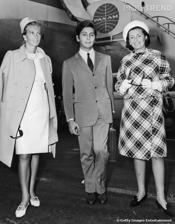 Valentino 1962-2012, 50 ans de création En 1962 Valentino défile pour la première fois Photo : Valentino Garavani en 1965