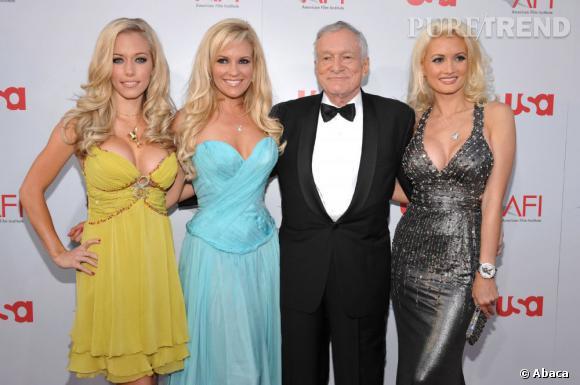 """Entre 2001 et 2008, il sort en même temps avec Kendra Wilkinson, Bridget Marquardt et Holly Madison qui apparaissent dans l'émission """"Girls Next Door""""."""