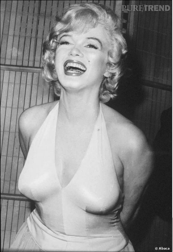 """Parmi les laisions supposées d'Hugh Hefner, Marilyn Monroe, cover girl du premier numéro de """"Playboy""""."""
