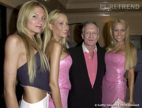 En 2000 il enchaîne les femmes. Ici, il s'affiche avec Jessica Paisley, Mandy Bentley et Sandy Bentley.