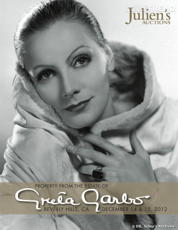 Vente aux enchères des effets personnels de Greta Garbo à la Julien's Auctions.