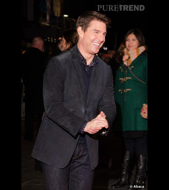 Voilà un Tom Cruise heureux ! L'acteur passera Noël avec ses enfants, dont la petite Suri.