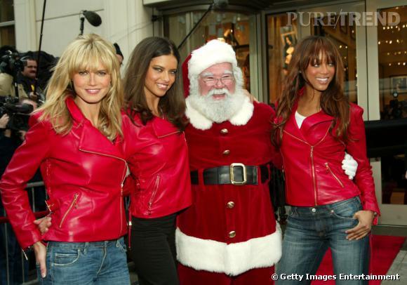 Les Anges et le Père Noël.