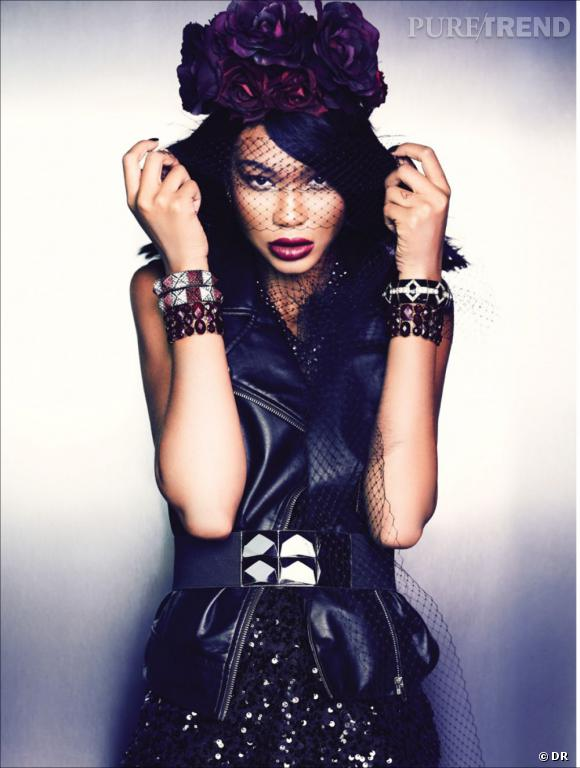 Chanel Iman pour la collection Noël de Forever 21