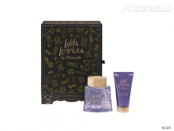 10 idées de cadeaux pour mon mec : un coffret parfumé    La Malle Cabine Lolita Lempicka au Masculin, 69 €