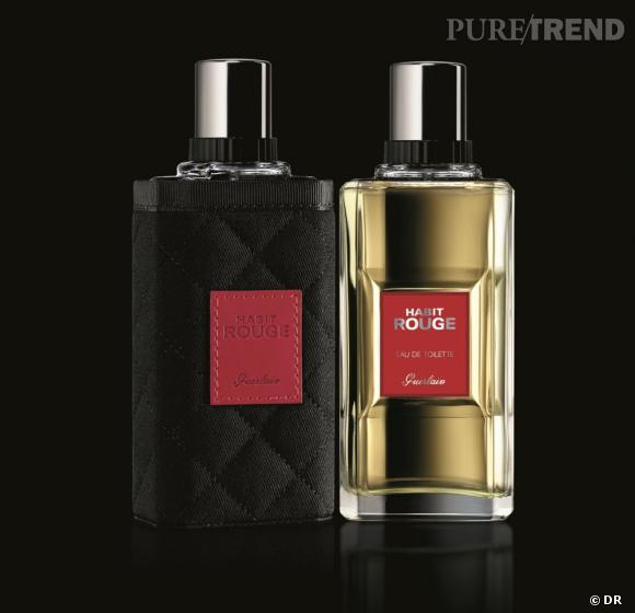 10 idées de cadeaux pour mon mec : un parfum    Habit Rouge L'Esprit du Cavalier de Guerlain, édition limitée Noël, 78 €