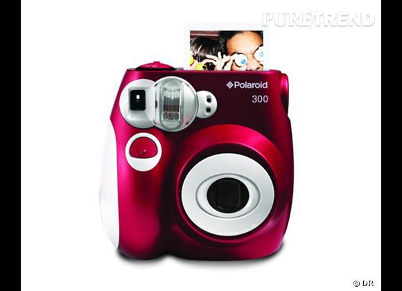 Sélection high tech : nos 15 must have  Appareil photo Compact Instant 300, environ 76 €
