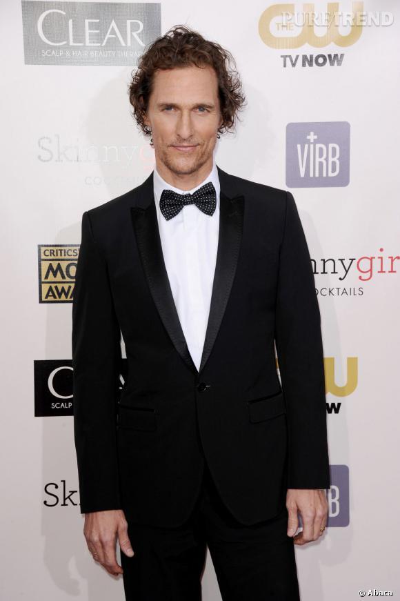 Audacieux Matthew McConaughey, le costume / noeud pap' ! - Puretrend HD-82