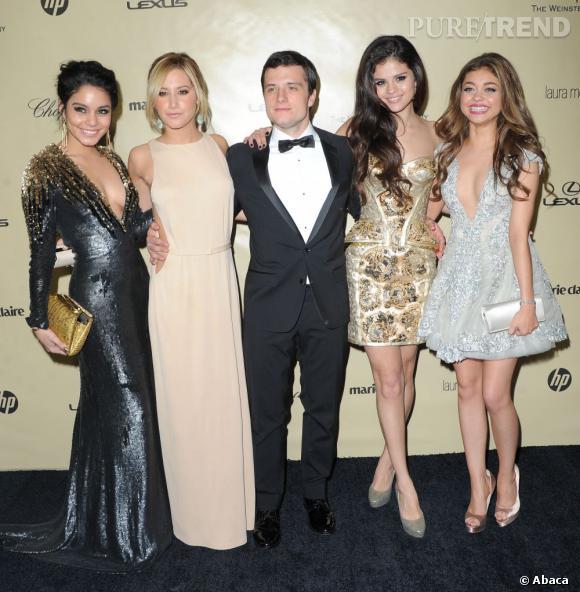 Selena Gomez aurait également flirté avec Josh Hutcherson lors de la soirée de Golden Globes.