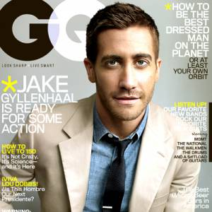 Jake Gyllenhaal pour GQ.