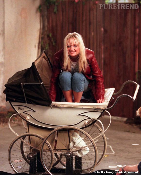 Emma Bunton, la Baby Spice a bien grandi.