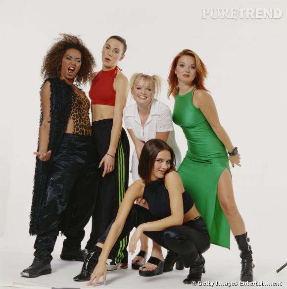 Emma Bunton et les Spice Girls, le succès des années 90.