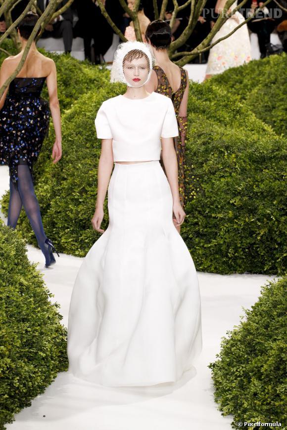 La robe de mariée Haute Couture Printemps-Eté 2013 !    Défilé Christian Dior, Haute Couture