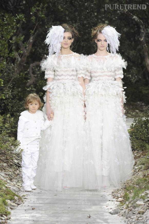 La robe de mariée Haute Couture Printemps-Eté 2013 !    Défilé Chanel, Haute Couture