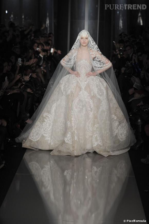 La robe de mariée Haute Couture Printemps-Eté 2013 ! Défilé Elie Saab, Haute Couture