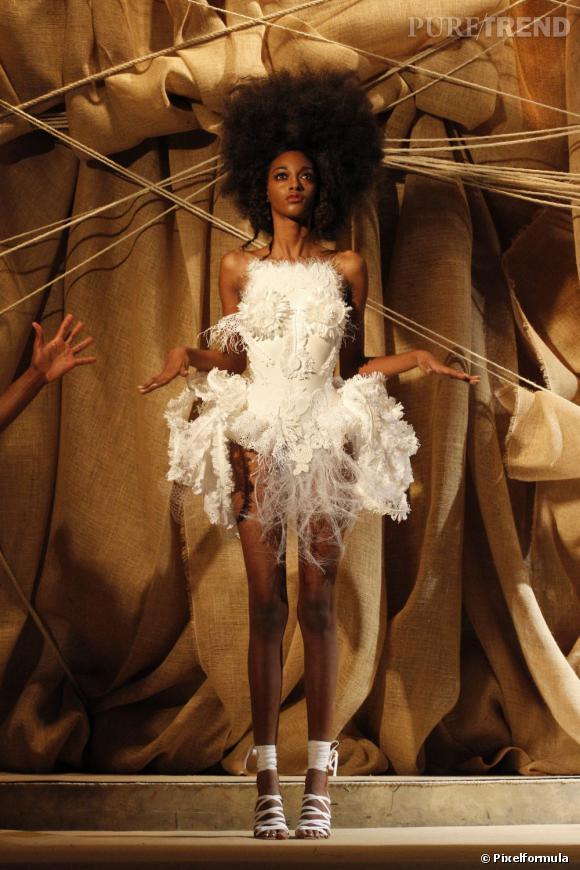 La robe de mariée Haute Couture Printemps-Eté 2013 !    Défilé Franck Sorbier, Haute Couture
