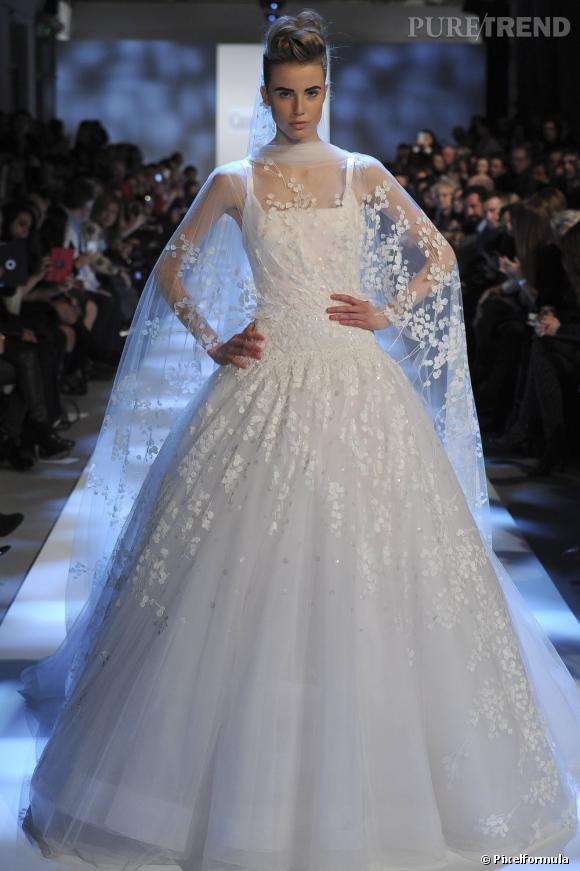La robe de mariée Haute Couture Printemps-Eté 2013 !    Défilé Georges Chakra, Couture
