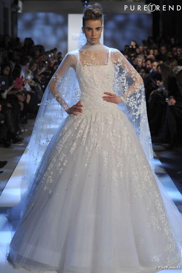 La robe de mari e haute couture printemps et 2013 for Prix de robe de mariage en or georges chakra