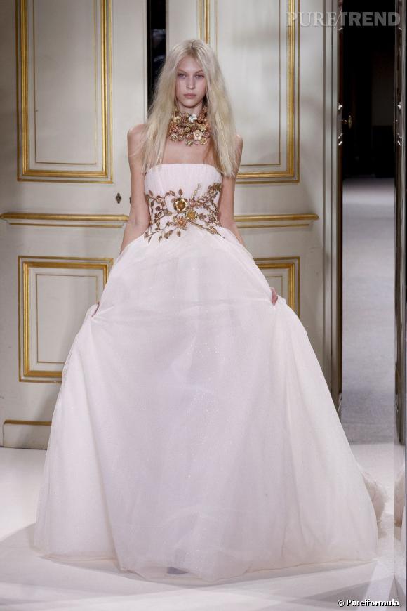 La robe de mariée Haute Couture Printemps-Eté 2013 !    Défilé Giambattista Valli