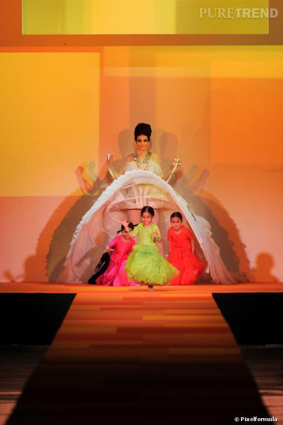 La robe de mariée Haute Couture Printemps-Eté 2013 !    Défilé Jean Paul Gaultier, Haute Couture