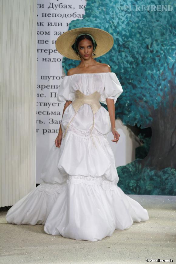 La robe de mariée Haute Couture Printemps-Eté 2013 !    Défilé Ulyana Sergeenko, Haute Couture