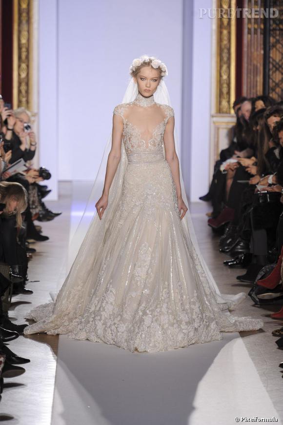 La robe de mariée Haute Couture Printemps-Eté 2013 !    Défilé Zuhair Murad, Haute Couture