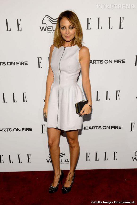 Soirée Elle's Women à Los Angeles : Nicole Richie en Winter Kate.