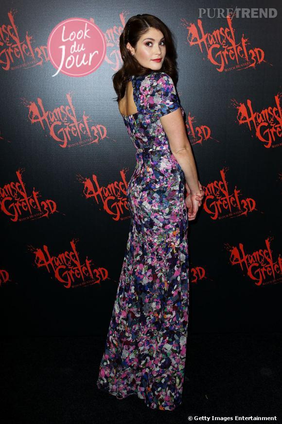 """Gemma Arterton lors de la première du film """"Hansel & Gretel : witch hunters"""" à Sydney."""