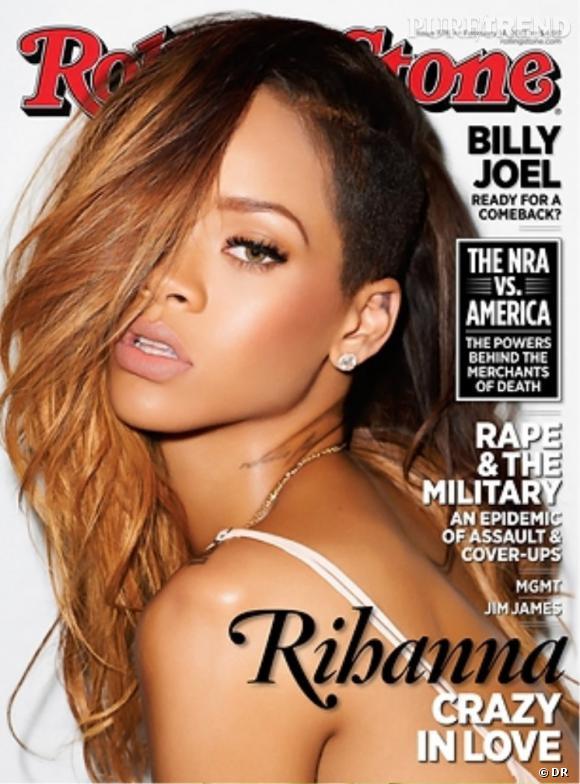 Rihanna dans Rolling Stone dit tout sur Chris Brown.
